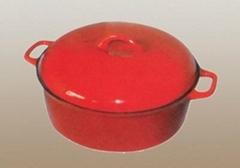 casting-iron enamel boil buty pan