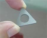Tungsten carbide shims