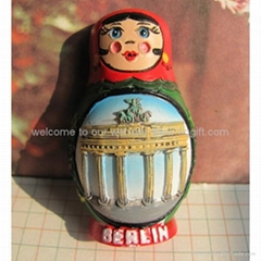polyresin Tourist souvenirs Fridge magnet