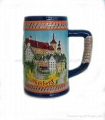 Ceramic 3D Souvenir Cup