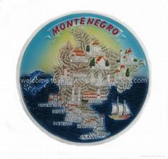 ceramic Tourist souvenirs plate