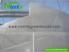 Saw-Tooth Fixed Roof Greenhouse