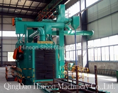 pipes external shot blasting machine