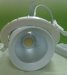 led gimble downlight