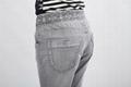 品质微叭牛仔长裤