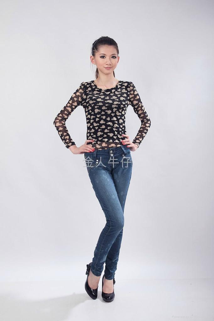 外贸女长裤 1