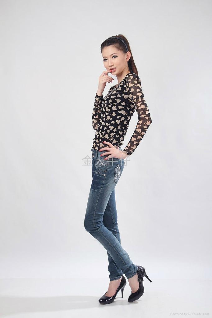 外贸女长裤 2