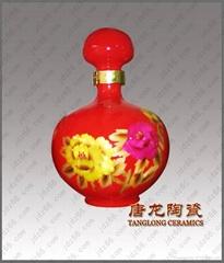 中國紅酒瓶