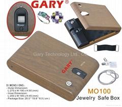 Optical biometric fingerprint portable Jewelry mini safe box