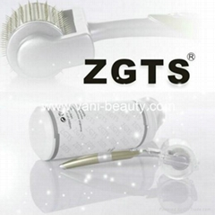 ZGTS factory wholeale titanium alloy derma roller microneedling meso rolling