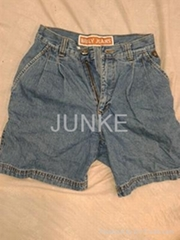 Men used jean short pants