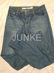 Men used jean long pants