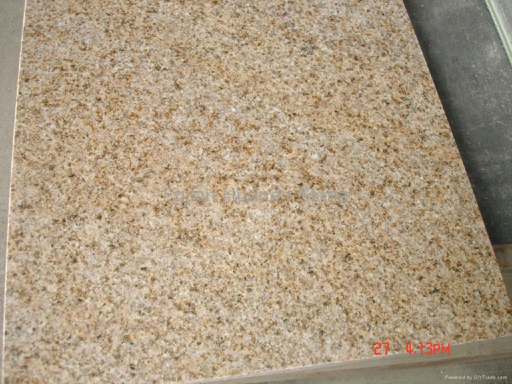 Sunset Gold G682 Granite Slab Hn Stone China Granite