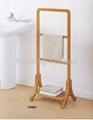 bamboo bathroom rack 3