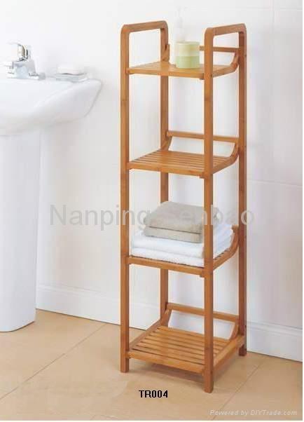 bamboo bathroom rack 4