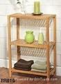 bamboo bathroom rack 5