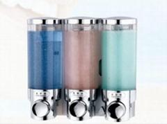 Hotel bathroom soap liquid dispenser