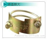 Tiger folder hose clamp