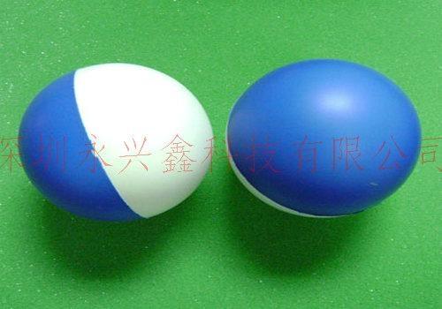PU实心弹力儿童玩具球 4
