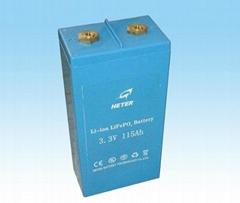 LiFePO4 battery pack 3.3V-150Ah