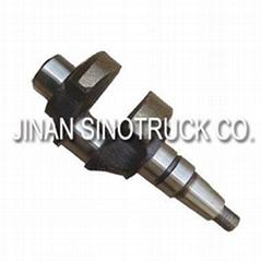 sino truck howo dump truck parts 8150013713 crankshaft for air compressor