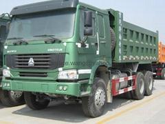 sinotruk howo 35tons right hand drive dump trucks for sale