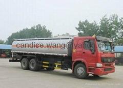sino truck howo 20cbm oil tanker truck