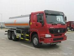 sinotruck howo 19 m³ fuel tank trucks