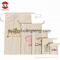 Drawstring Satin Cotton Bag