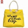 Eco-friendly canvas tote bag