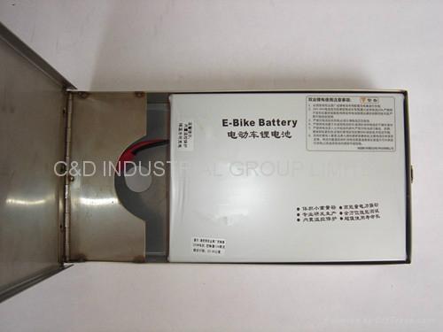 36V 250W electric bike conversion kit with 10AH rear box battery 2