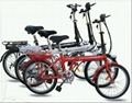 36V 250W 20 inch electric folding bicycle 1