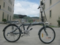 36V 250W 20 inch electric folding bicycle 2