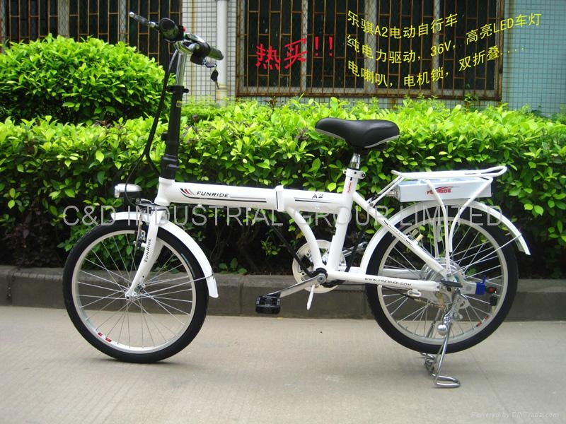 36V 250W 20 inch electric folding bicycle 3