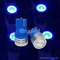 1w high power led car signal light bulb