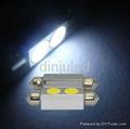 42mm high power led festoon car light