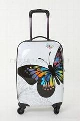 蝴蝶拉杆箱