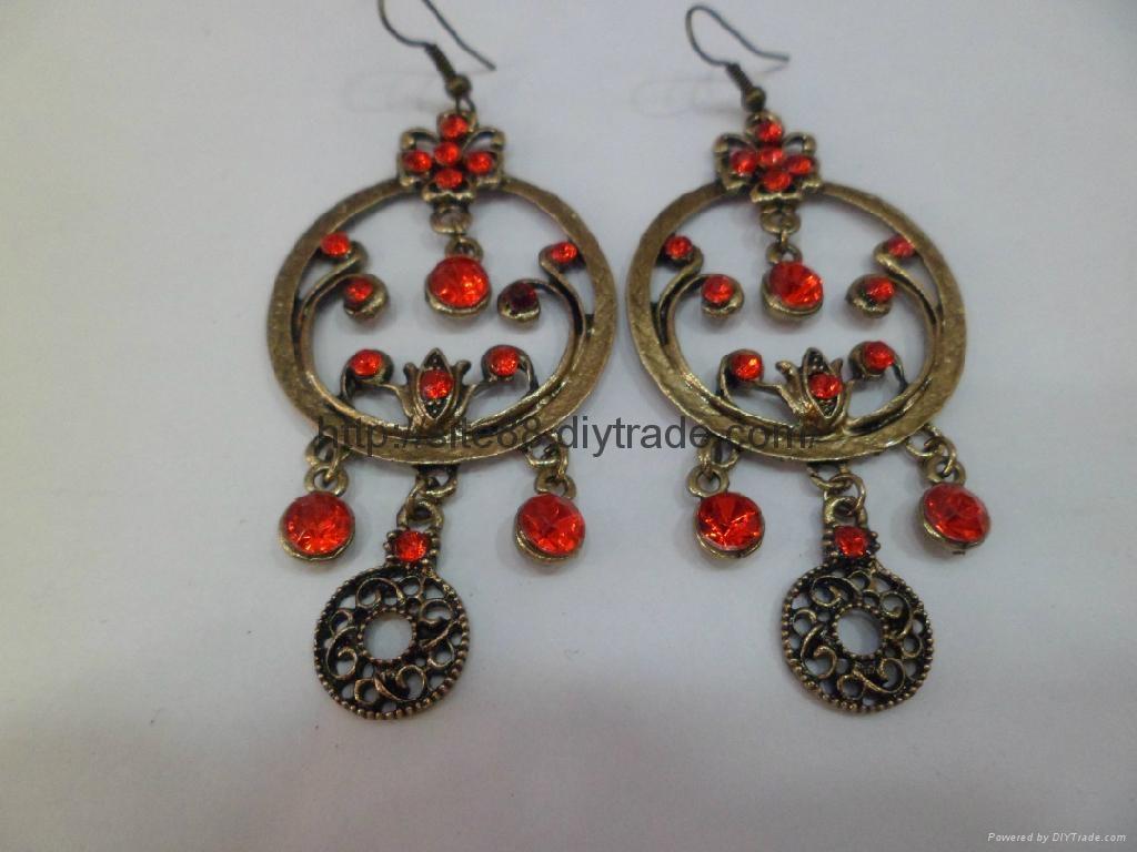 古铜耳环 2