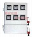 供應插卡式劉表位玻璃鋼電表箱