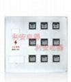 供應插卡式劉表位玻璃鋼電表箱  透明電表箱 2