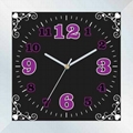 6 paragraph contracted wall clock