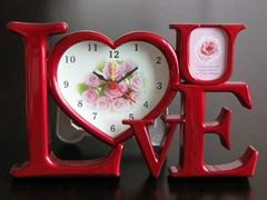 valentine's gift alarm clock LOVE