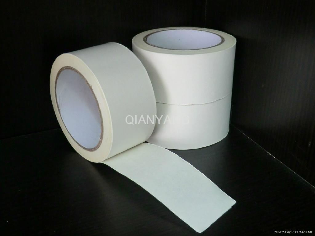 White Kraft paper tape/Strong kraft tape/Sticky carton sealing tape 1
