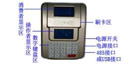 U盘采集型中文IC卡消费机 4