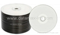 Blank dvd-r 16x white thermal printable
