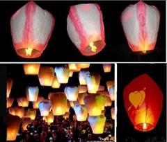 Wishing balloons sky lantern