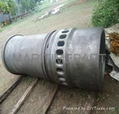 B & W  62EF NEW Japan Original Cylinder Liners
