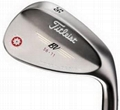 Titleist Mens Vokey Spin Milled Black Nickel Golf Wedges