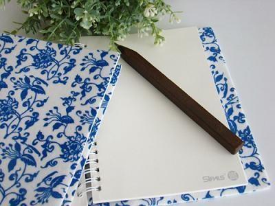 青花番莲纹笔记本 1