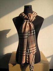时尚格子百搭围巾